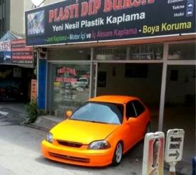 Start garaj plasti dip - Bursa Oto