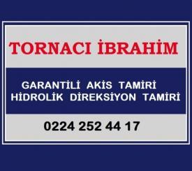 Tornaci ibrahim hidrolik direksiyon aks - Bursa Oto