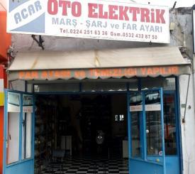 Acar oto elektrik far parlatma servisi - Bursa Oto